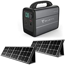 BLUETTI 240W ソーラーパネル(2枚) 1000WH ポータブル電源 扇風機/車載冷蔵庫/電気毛布などに対応可 防災 LEDライト付き PSE認証済 車中泊/キャンプ/災害用/停電/熱中症対策 USBもDCもACもType-Cも同時出力でき