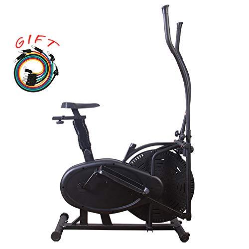 Professionele roterende hometrainer, LCD-scherm, fitness hometrainer met vliegwiel, verstelbaar zadel, maximaal 125 kg