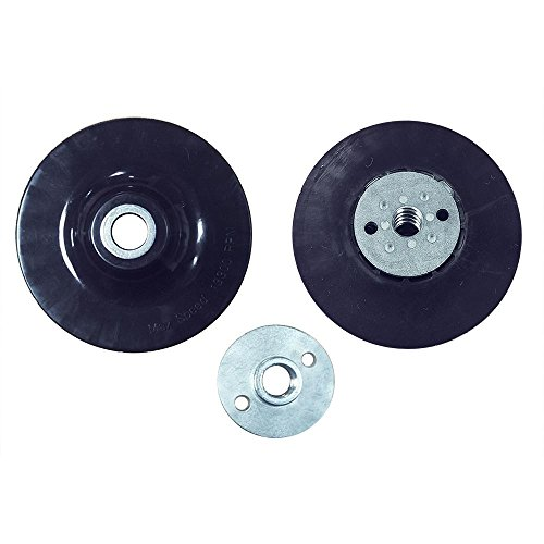 Best Prices! Superior Pads and Abrasives BP45 4.5 inch Angle Grinder Backing Pad for Resin Fiber Dis...