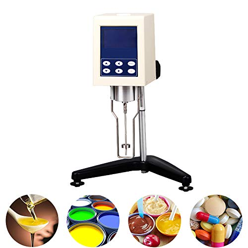 Rotary Viscometer NDJ-8S 10~2000000Pa.s Viscosity Meter Tester with 4 Rotors Digital Display Viscometer for Painting, Adhesives, Cosmetics and Grease