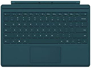 Microsoft Type Cover for Surface Pro - Teal (Renewed)