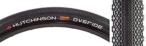 Hutchinson Intensive 2 - Neumático de Bicicleta para Adulto, Unisex, Color Negro, 700 x 25