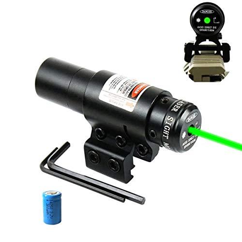 Hauska Airsoft Pointeur Laser Vert Picatinny 11   20mm Rail Mount