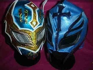 Bleu WWE SIN CARA /& Blue Kalisto avec queue de Catch Masque Lucha Dragons enfants adultes