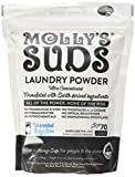 Molly's Suds Unscented Laundry Detergent Powder, 70 Loads, Natural Laundry Soap for Sensitive Skin