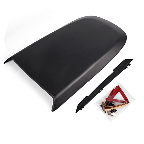Front Racing Hood Scoop Vent Cover Replacement For Ford Mustang GT V8 2005-2009 ABS Plastic Racing Sport Style Air Flow Intake Hood Scoop 2006 2007 2008