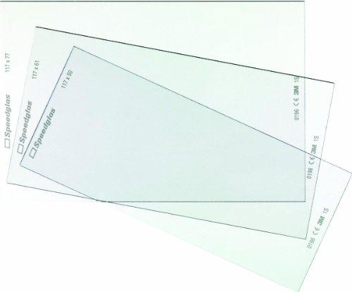 3M SPEEDGLAS Innere Vorsatzscheiben zu 9100X Inhalt 5 Stück