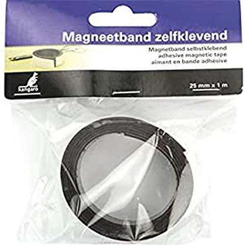 Magnetband Kangaro selbstklebend 25mm x 1 meter