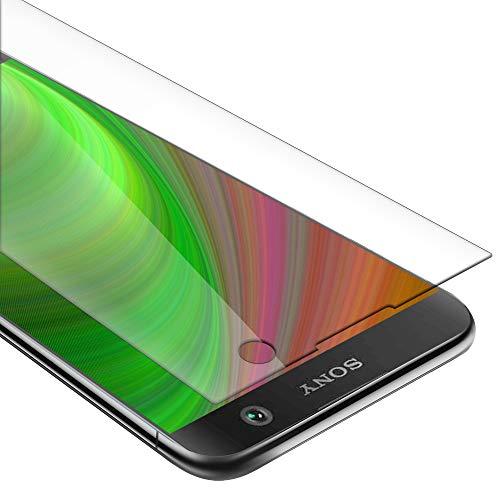 Cadorabo Pellicola Protettiva compatibile con Sony Xperia XA2 in ELEVATA TRASPARENZA - Vetro di protezione del display (Tempered) con durezza 9H con compatibilità 3D touch