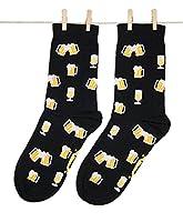 QUALITÉ SUPÉRIEURE - Nos chaussettes sont en coton peigné de la plus haute qualité et sont certifiées OEKO-TEX. Le peignage en coton élimine les fibres plus courtes. Ce processus améliore la qualité du vêtement, car les fibres longues sont beaucoup p...