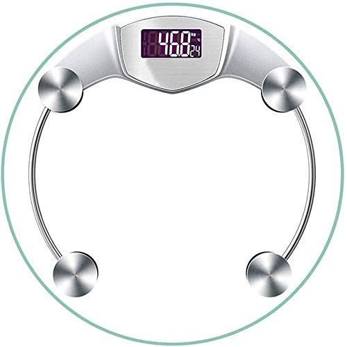 Best Deals! FSGHJJKN Electronic Bathroom Scale - 150kg Capacity Digital Scales, Easy Read Display, L...