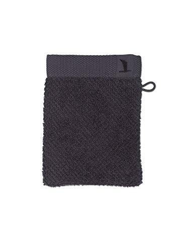 möve New Essential gant de lavage 15 x 20 cm en 100% coton, graphite