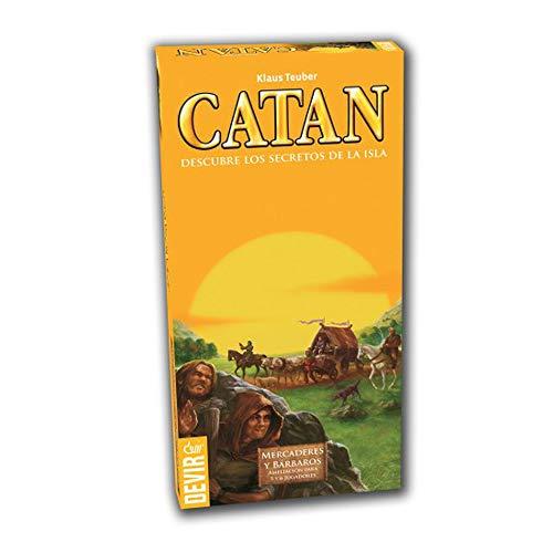 Devir - Catan, Mercaderes Bárbaros, juego mesa BGMER56
