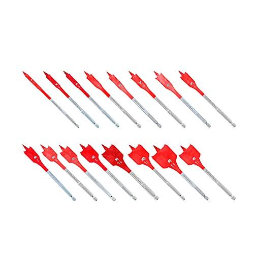 4 Set of Diablo DSP2980-S16 16 pc SPEEDemon Spade Bit Set