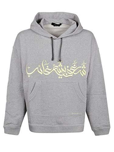 QASIMI Luxury Fashion Mens Sweatshirt Winter Grey