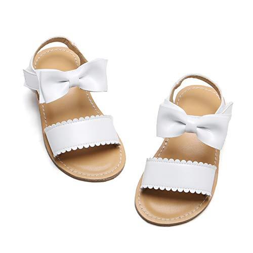 Girls White Sandals Size 11 Little Kid Summer Holiday Wedding