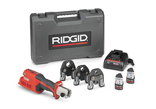 "Ridgid 57373 RP 241 Press Tool Kit 1/2""-1"" PP+LIO"