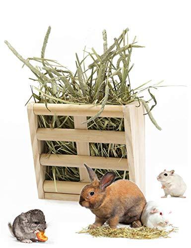 うさぎ 牧草用エコフィーダー マルカン ボクソウヨウエコフイ-ダ- 木造 うさぎ 餌入れ 牧草 フィーダー うさぎ 牧草入れ うさぎ 牧草入れウサギ用品