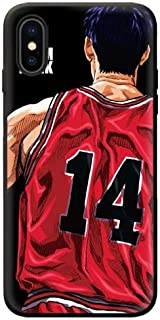 1 piece 3D relief Japanese animated slam dunk phone cover for iPhone 6 6s 7 8 Plus X XS Max XR case soft silicone Jordan 23 Cases Capa