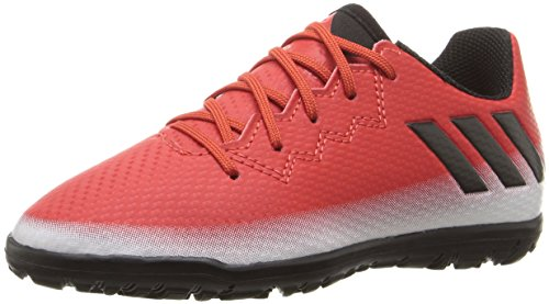 adidas Boys' Messi 16.3 TF J Skate Shoe, Red/Black/White, 4.5 M US Big Kid