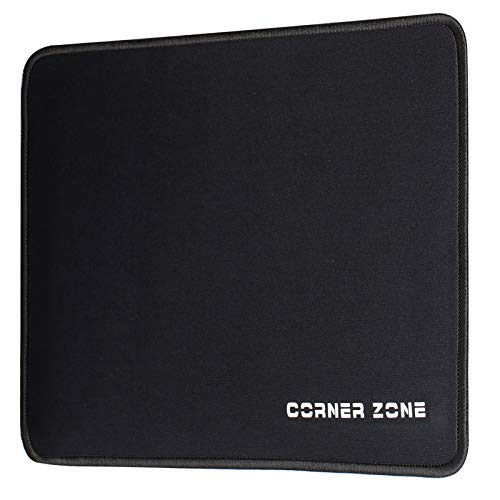 Laptop Mouse Pad with Stitched Edge Microwoven Mouse Mat with NonSlip Rubber Base Waterproof Mousepad for Computer Laptop Desktop Gaming OfficePremiumTextured Mouse Pads for All Type of Mice