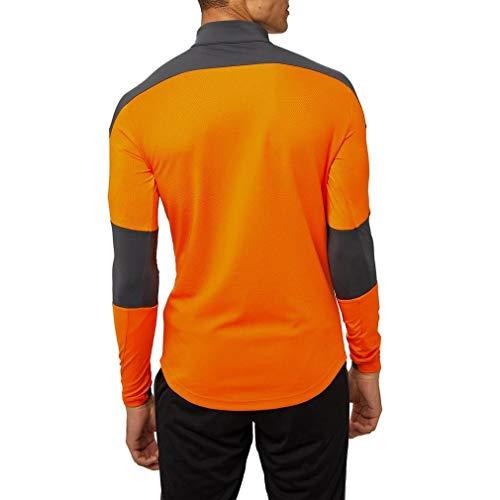 PUMA Valencia CF Temporada 2020/21-Training 1/4 Zip Top Vibrant Orange Chaqueta, Unisex, Naranja, M