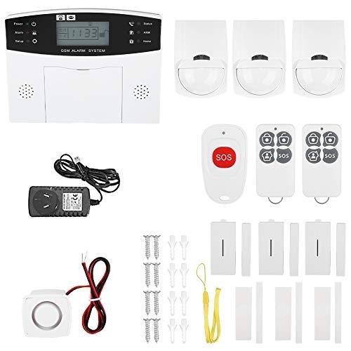 Alarma antirrobo casera, GSM inalámbrico opcional avanzado confiable automático de la(Australian standard 100-240V)