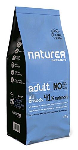 Naturea Alimento Seco para Perros Naturals Adulto Salmón - 12000 gr ✅
