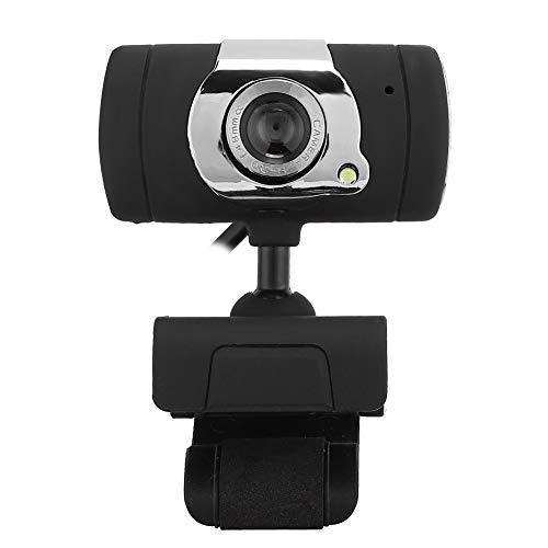 Webcam HD 1080p Web Camera para PC Cámara USB con micrófono Que Absorbe el Sonido para Grabar Llamadas, conferencias, Juegos