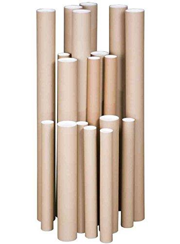 SMARTBOXPRO Lot de 3 Tubes d'expédition Rond Dim Internes 305 x 50 mm pour A3
