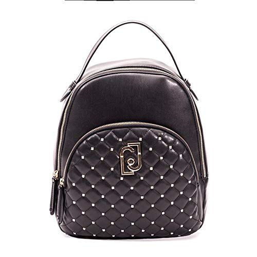 ZAINO LIU-JO BACKPACK M IN ECOPELLE COLORE NERO DONNA B20LJ05