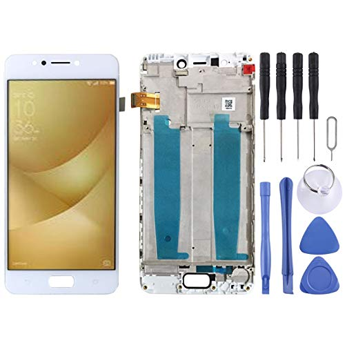 Mingxian Pantalla LCD y digitalizador Asamblea con Marco Completo for ASUS Zenfone 4 MAX ZC520KL X00HD (Negro) (Color : Black)