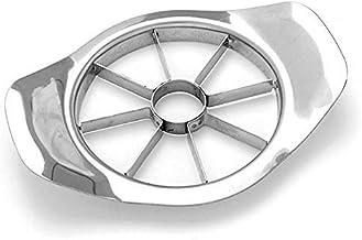 Exseson Stainless Steel Fruits, Veggies & Melon Cutter Divider Slicer Kitchenware (Stainless Steel Apple Cutter)