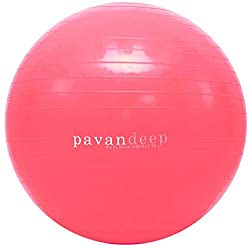 Pink Exercise Ball
