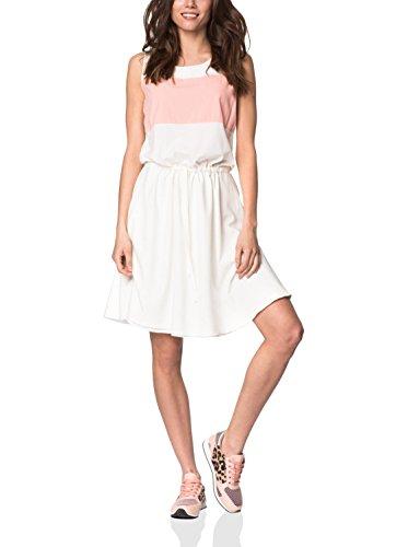 Peperuna Kleid weiß/lachs L