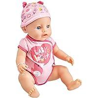 Baby Born 30878 Muñeca interactiva con 9 Funciones y 11 Accesorios