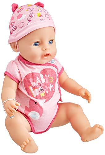 Baby Born–30878–Muñeca interactiva niña 9Funciones y 11(Incluye Accesorios)