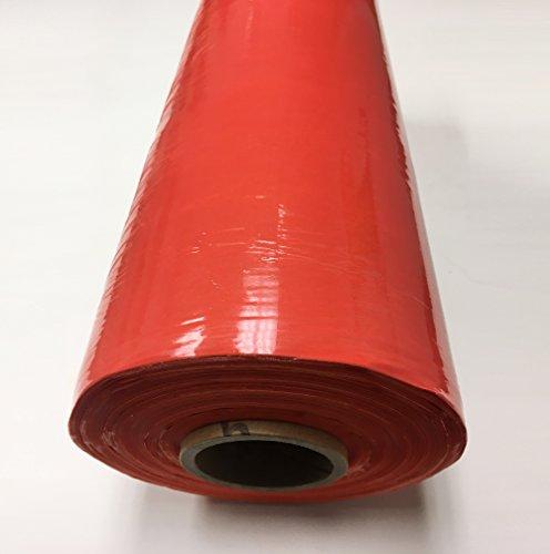 J.V. Converting SFOR80/DKOR205000 JVCC SFOR80 - Pellicola elasticizzata, spessore: 0,008' x 50,8 x 1666-0,67 m, colore: Arancione scuro