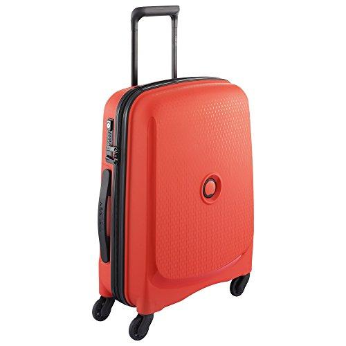 Delsey Paris Belmont Equipaje de Mano, 55 cm, 40 Liters, Rojo (Rouge)
