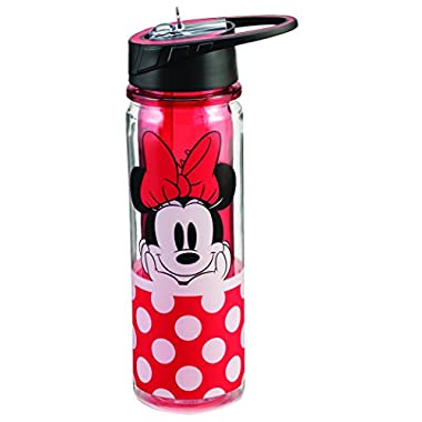 Disney Minnie Mouse 18 Oz. Tritan Water Bottle 89075