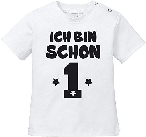 EZYshirt EZYshirt® Ich bin Schon 1   Bio Baumwolle Baby T-Shirt   Geburtstagsgeschenk