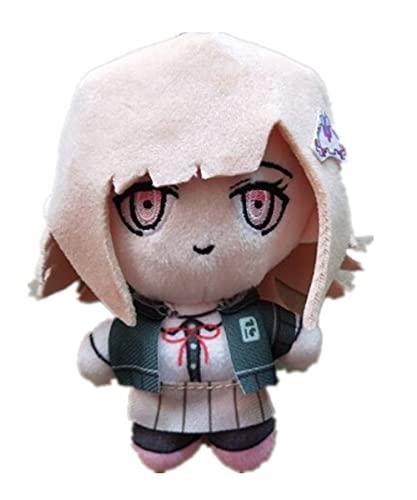 Chiaki Nanami Plush Doll Danganronpa Cosplay Plushie Cute Stuffed Keychain,15cm