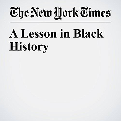 A Lesson in Black History audiobook cover art