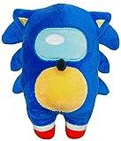 Blue Hedgehog Among Plush Stuffed Doll 6