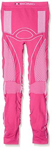 X-Bionic En-Accumulator UW, Pantalone Intimo Termico Unisex Bambino, Rosa/Bianco, 43351.0
