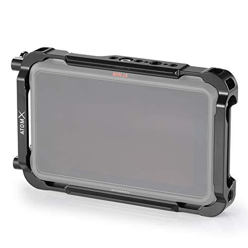 SMALLRIG Monitor Cage für Atomos Ninja V, Käfig mit Befestigungspunkten und SSD-Laufwerksperren - 2209