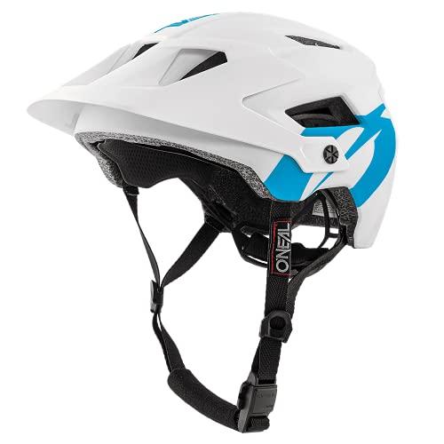 O'NEAL   Mountainbike-Helm   Enduro Downhill   Leichtgewichtiger All Mountain Helm, Einfache Justierung, schweißabsorbierendes Polster   Defender 2.0 Helmet SOLID   Erwachsene   Weiß   Größe XS/M