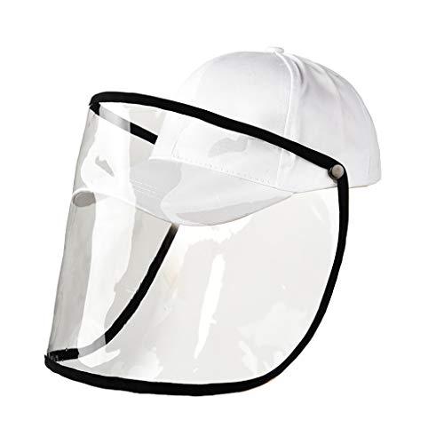 Baseball Caps Damen Anti-Spucken Schutz Startseite Einstellbar Mützen Fischerhut Sommer