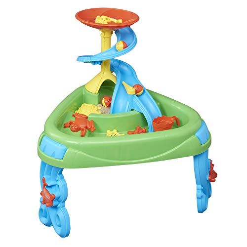 American Plastic Toys Fish Pond Sand and Water Play Table, Green