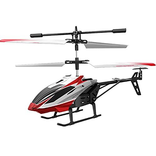 Kikioo Elicotteri RC a induzione a infrarossi a 2,5 canali resistenti alla caduta, luce a LED per aeroplani con telecomando wireless a 2,4 GHz, droni RC giocattolo giroscopio incorporato regalo per in